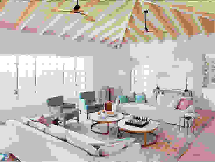 Quark Arquitectura Ruang Keluarga Gaya Mediteran