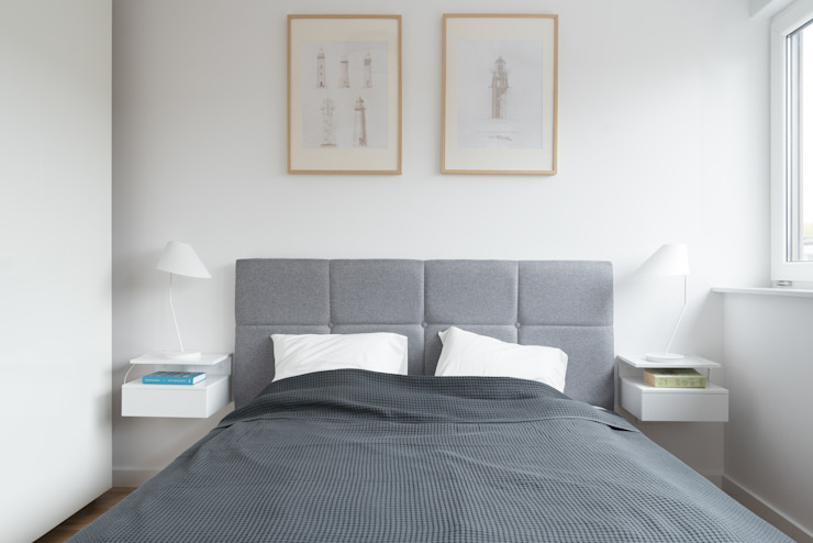 ENDE marcin lewandowicz Modern Bedroom
