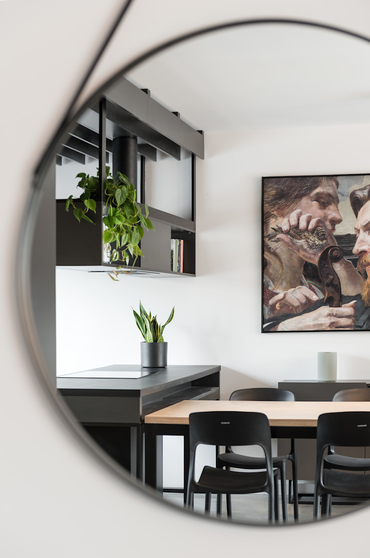 ENDE marcin lewandowicz Modern Living Room