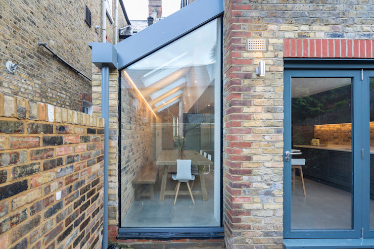 P+P Architects Small houses Glass Grey