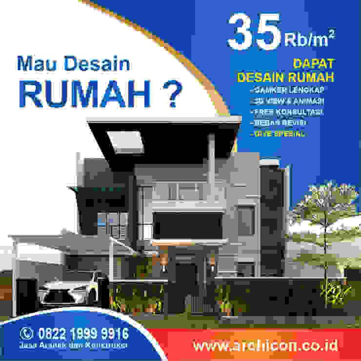 Jasa Arsitek Bandung| Jasa Desain Rumah Bandung | Jasa Desain Interior Bandung | Kota Bandung | Jasa kontraktor Bandung Jasa Arsitek Archicon Kolam renang halaman Batu Kapur Metallic/Silver