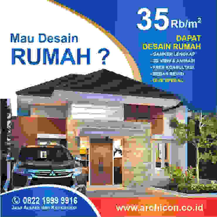Jasa Arsitek Bandung| Jasa Desain Rumah Bandung | Jasa Desain Interior Bandung | Kota Bandung | Jasa kontraktor Bandung Jasa Arsitek Archicon Kamar tidur kecil Batu Kapur Brown