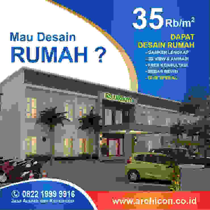 Jasa Arsitek Bandung| Jasa Desain Rumah Bandung | Jasa Desain Interior Bandung | Kota Bandung | Jasa kontraktor Bandung Jasa Arsitek Archicon Ruang Media Minimalis Beton Brown