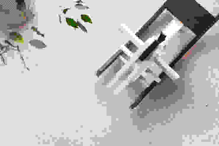 Fotografia di interni - particolare del pavimento alla veneziana Inlet Studio Pavimento Bianco
