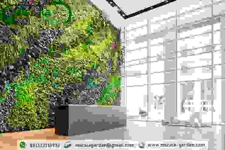 Tukang Taman Vertikal Jember NISCALA GARDEN   Tukang Taman Surabaya Pusat Perbelanjaan Tropis