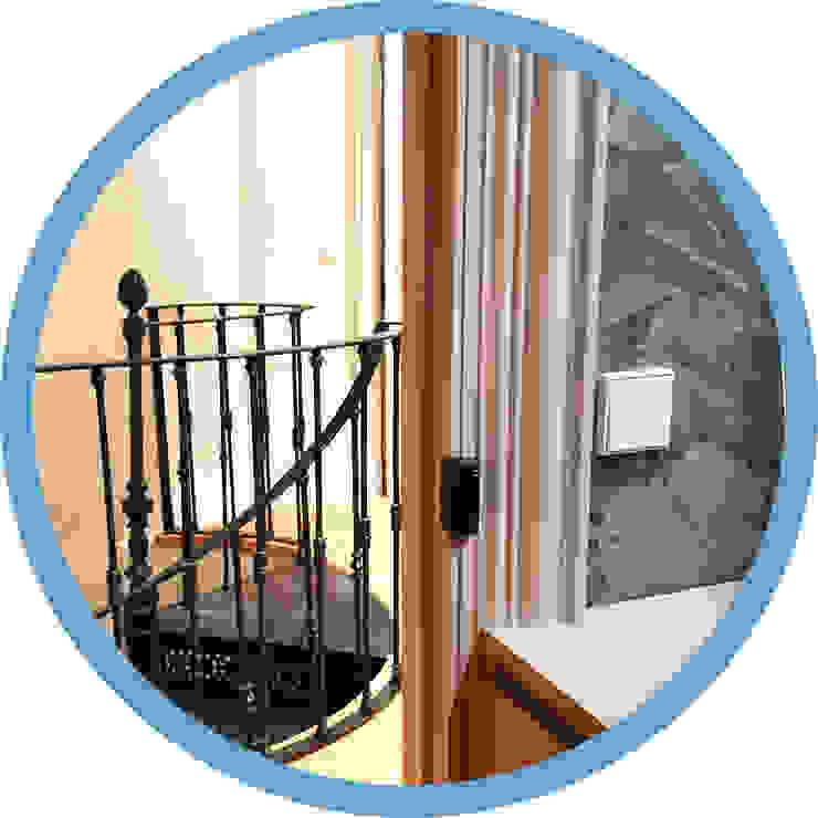 Indomotiq, Inmótica y Domótica (Zona norte) Modern corridor, hallway & stairs