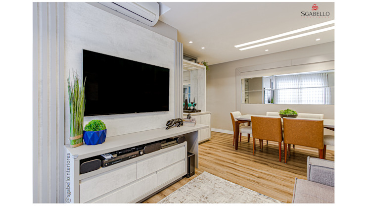 Sgabello Interiores Living roomShelves MDF Grey