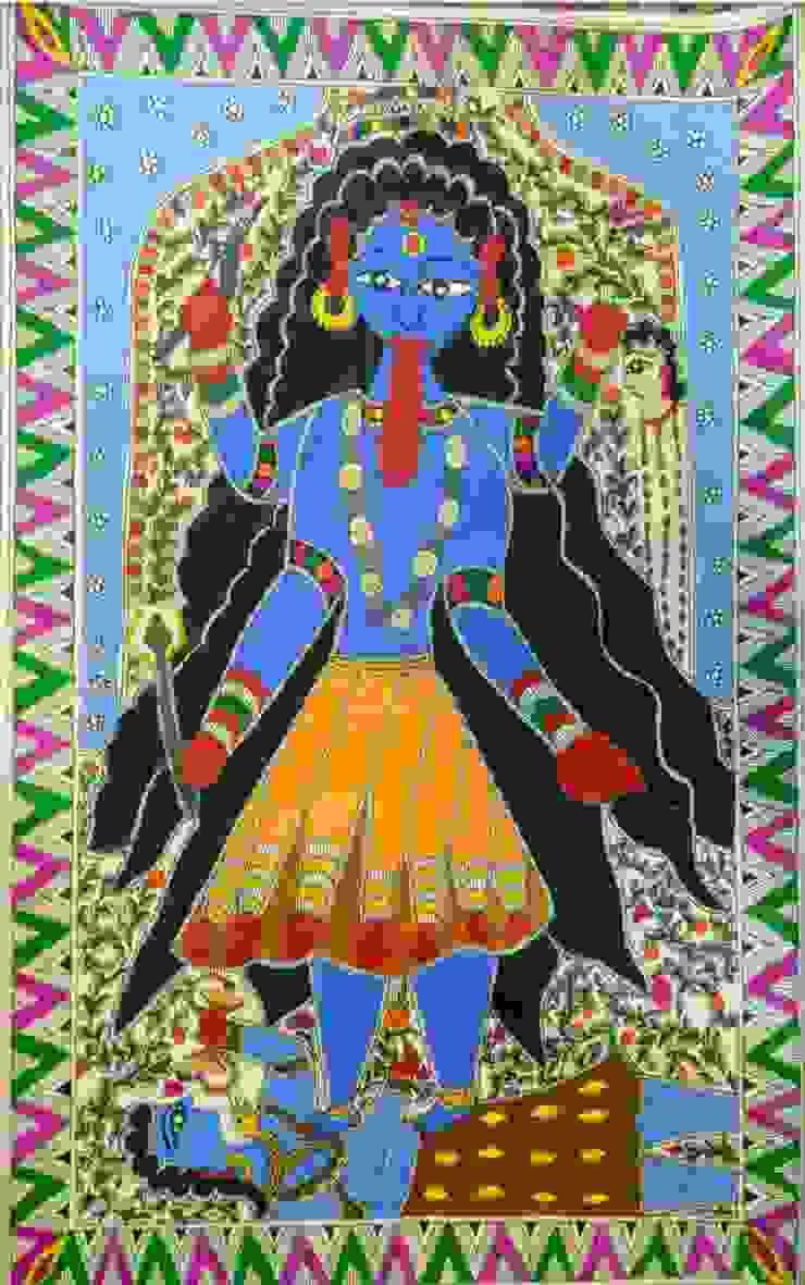 Goddess Maa Kali Indian Art Ideas ArtworkPictures & paintings