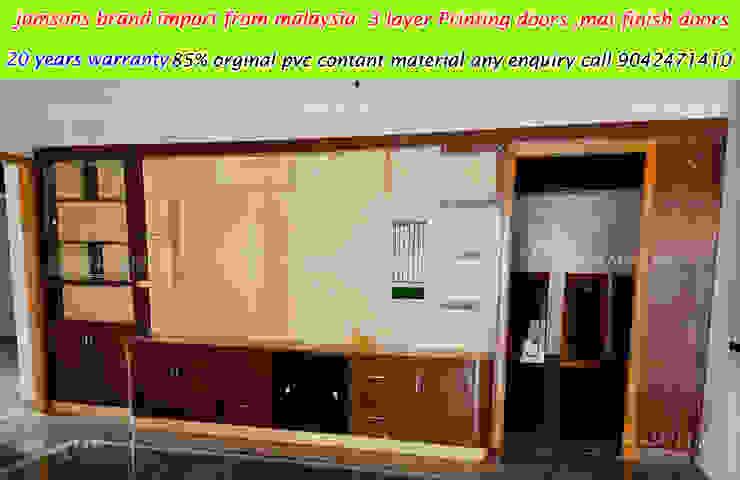 balabharathi pvc interior design Salas/RecibidoresMuebles para televisión y equipos Plástico Acabado en madera
