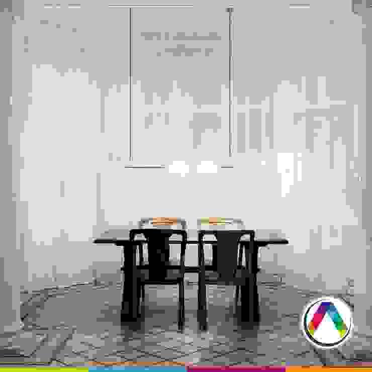 Iluminar un comedor La Casa de la Lámpara Hoteles de estilo moderno