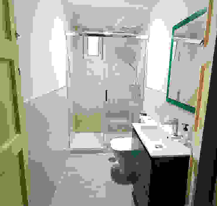 Reforma Integral en Sevilla - Después baño 1 Kouch & Boulé Baños de estilo moderno