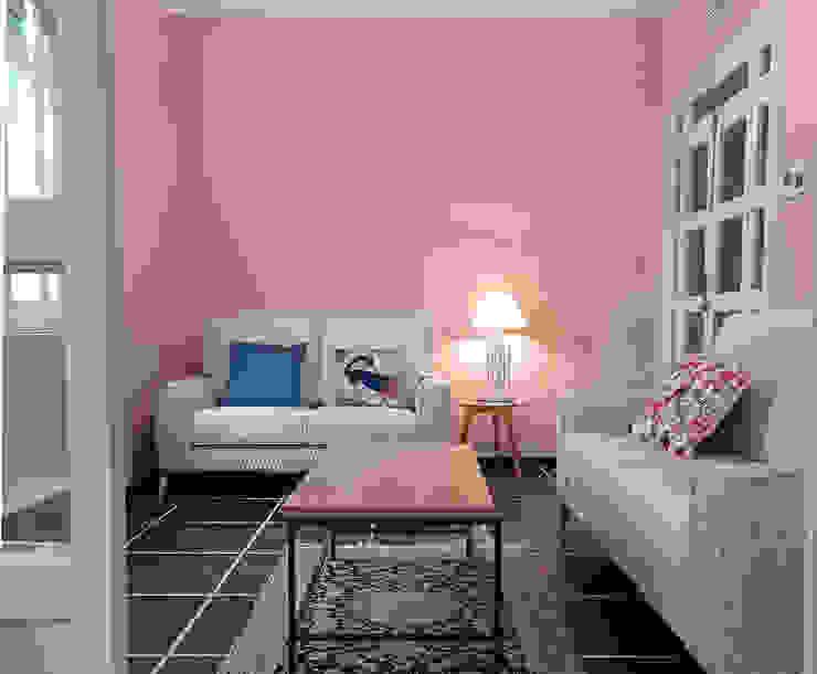 Reforma Integral en Sevilla - Después salón Kouch & Boulé Livings de estilo moderno