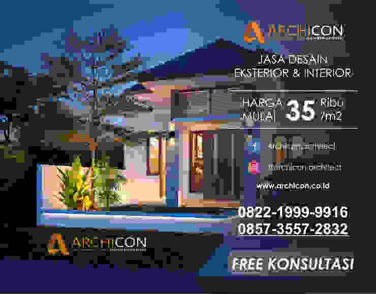 Jasa Arsitek Bandung   Jasa Desain Rumah Bandung   Jasa Desain Interior Bandung   Kota Bandung   Jasa kontraktor Bandung Archicon Architect Ruang Keluarga Gaya Mediteran Batu Beige