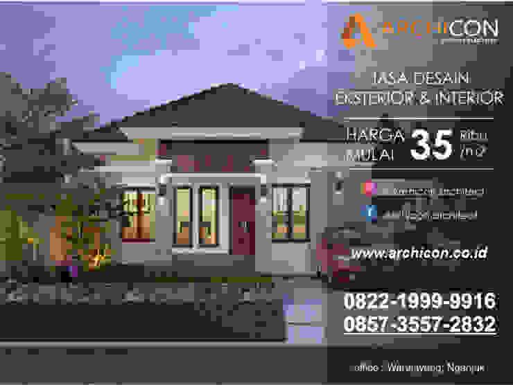 Jasa Arsitek Bandung   Jasa Desain Rumah Bandung   Jasa Desain Interior Bandung   Kota Bandung   Jasa kontraktor Bandung Archicon Architect Kamar Mandi Gaya Mediteran Batu Metallic/Silver