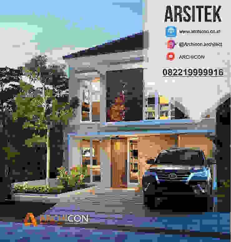 Jasa Arsitek Bandung | Jasa Desain Rumah Bandung | Jasa Desain Interior Bandung | Kota Bandung | Jasa kontraktor Bandung Archicon Architect Ruang Keluarga Klasik Batu Tulis Metallic/Silver
