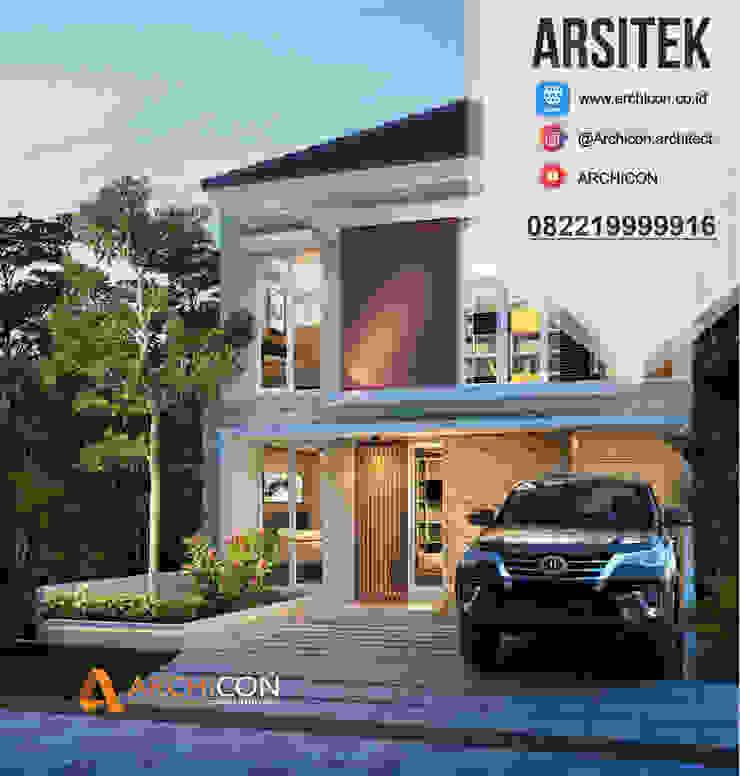 Jasa Arsitek Bandung | Jasa Desain Rumah Bandung | Jasa Desain Interior Bandung | Kota Bandung | Jasa kontraktor Bandung Archicon Architect Kamar Mandi Minimalis Batu Pasir Grey
