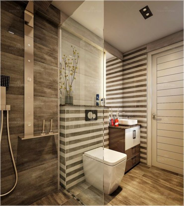 Bathroom designs Premdas Krishna 衛浴裝飾品 木頭 Wood effect