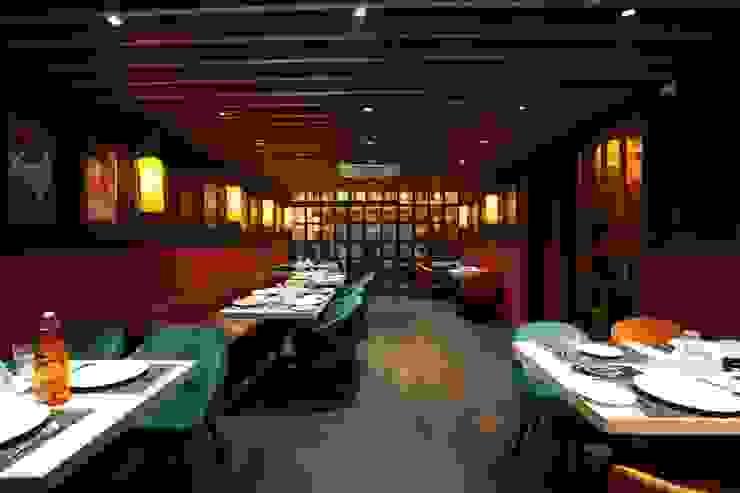 Restaurant Sitting Area HC Designs