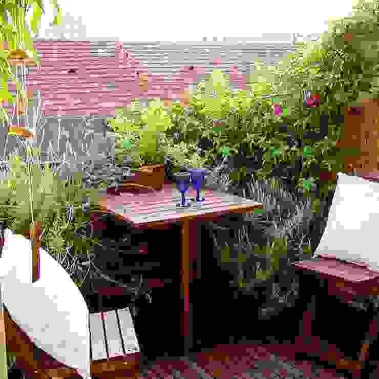 Progettazione di spazio verde Yougardener Balcone Variopinto