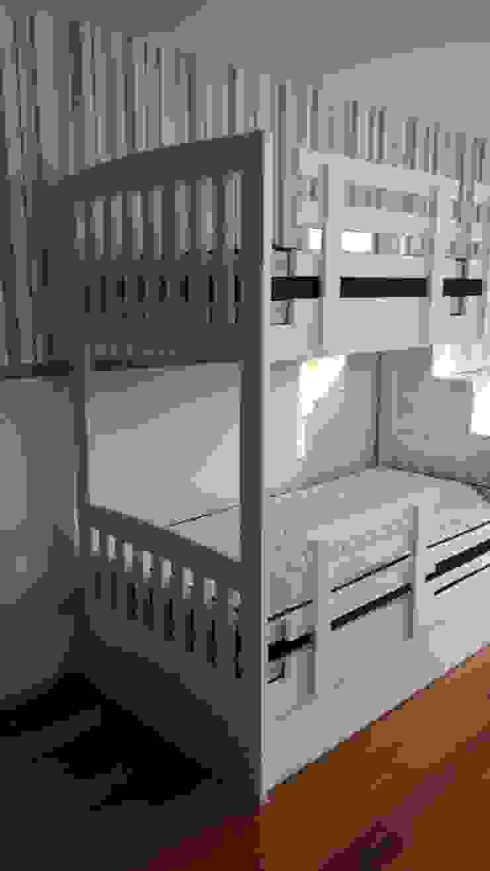ADN Furniture Dormitorios infantiles Camas y cunas Blanco