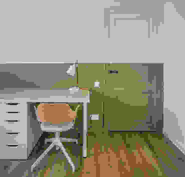 Vivienda en Ciudad Universitaria tambori arquitectes Estudios y despachos de estilo moderno Verde