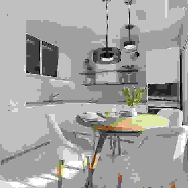 Кухня-гостиная. Дизайн проект 2-х комнатной квартиры, площадью 55 кв. м. ARTWAY центр профессиональных дизайнеров и строителей Гостиная в классическом стиле