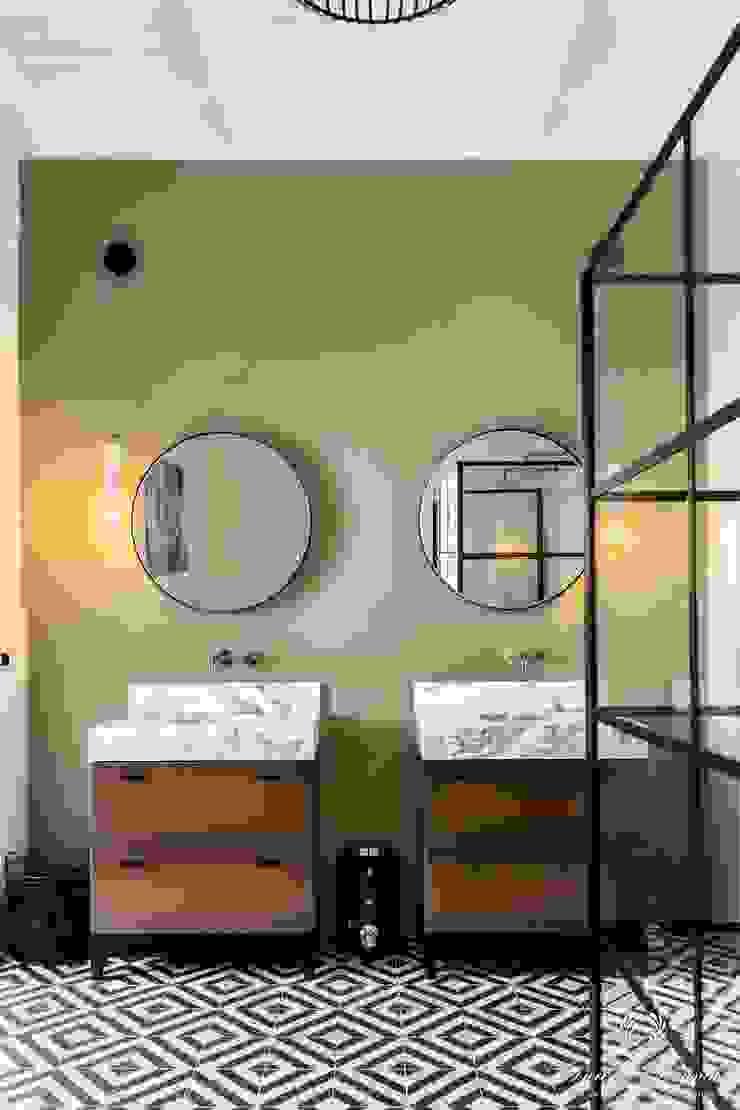 Pure & Original Salle de bain moderne Vert