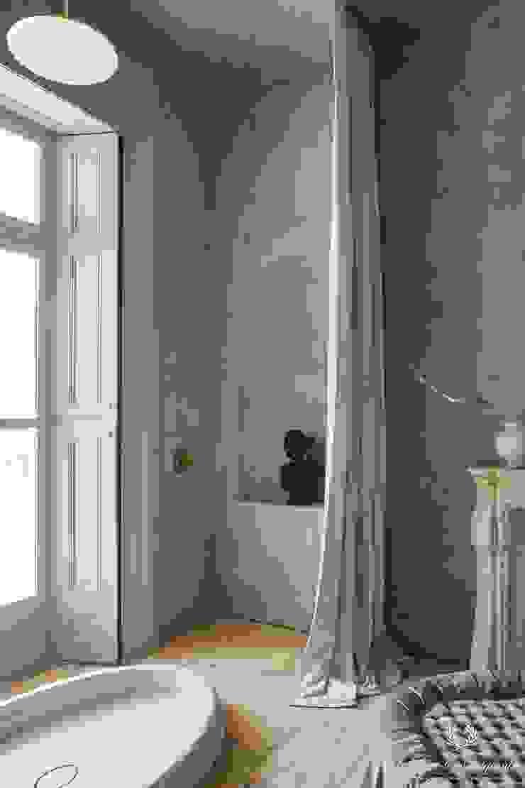 Pure & Original Salle de bain classique Gris