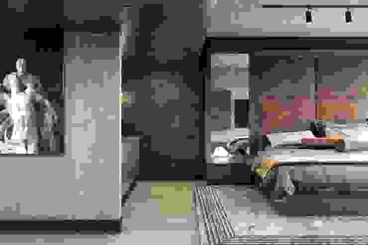 B&H Evi – Urla VERO CONCEPT MİMARLIK Modern Yatak Odası