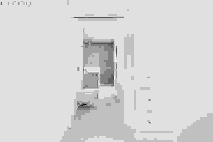 Lagom studio Kamar Mandi Modern Beton Grey