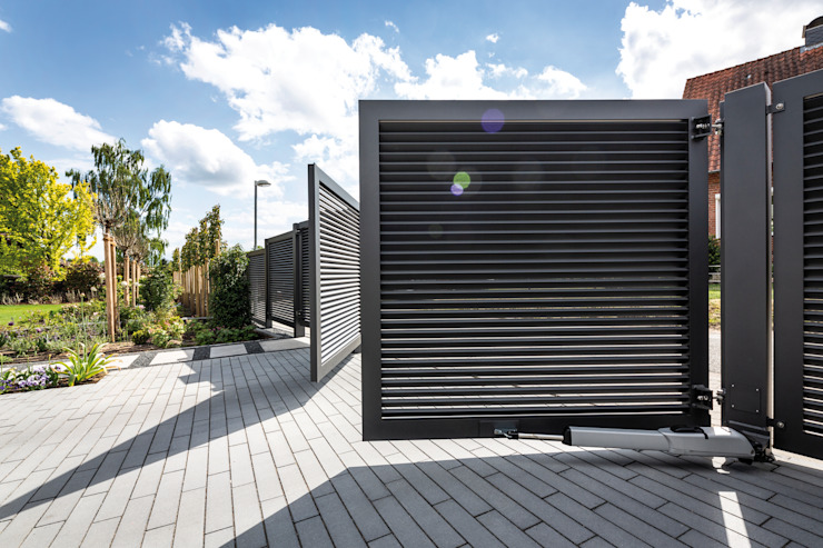 Nordzaun Garden Fencing & walls Grey