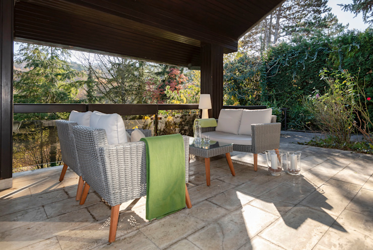 Cornelia Augustin Home Staging Classic style balcony, veranda & terrace