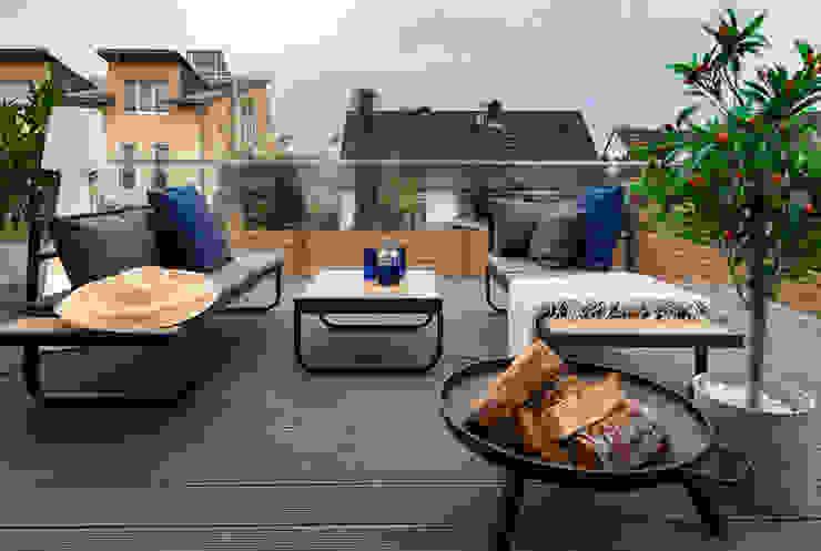 Cornelia Augustin Home Staging Balcon, Veranda & Terrasse scandinaves
