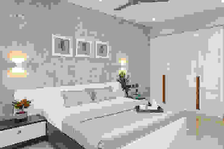A modern bedroom design scheme never fails to impress DLIFE Home Interiors BedroomAccessories & decoration