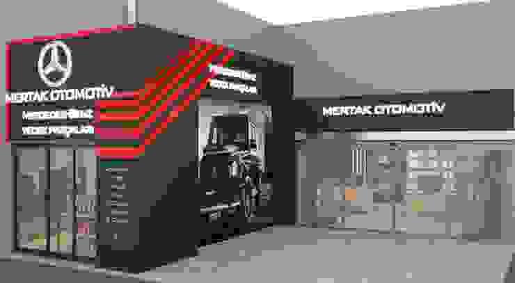 Mertak Otomotiv Haos Design & Architecture Modern Oto Galerileri