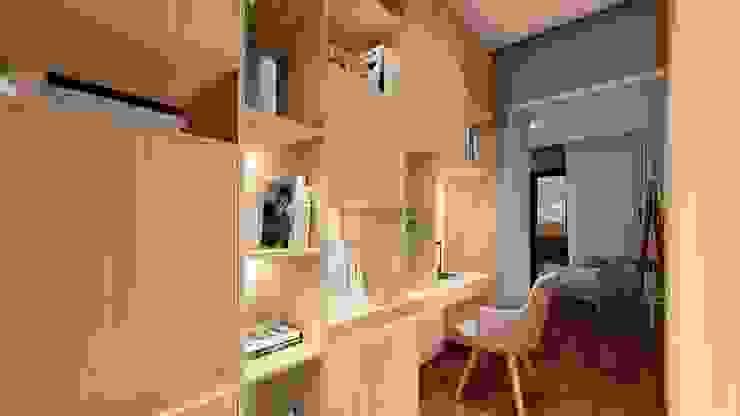 Studio Ideação Koridor & Tangga Modern MDF