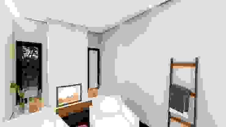 Studio Ideação Ruang Keluarga Gaya Eklektik