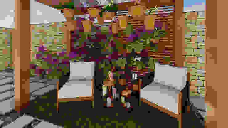Studio Ideação Taman Gaya Eklektik