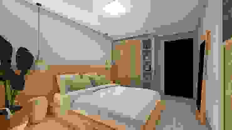 Studio Ideação Kamar Tidur Gaya Eklektik