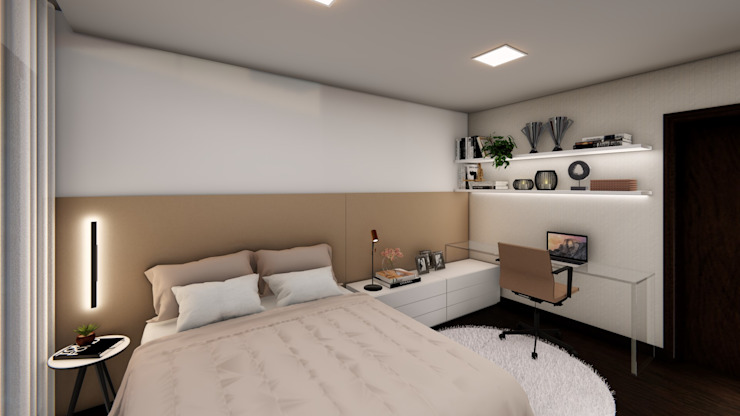 Studio Ideação Kamar Tidur Modern