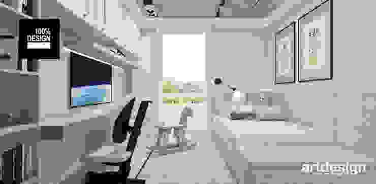 ARTDESIGN architektura wnętrz Dormitorios infantiles de estilo escandinavo
