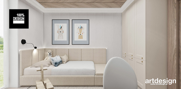 ARTDESIGN architektura wnętrz Habitaciones de bebé