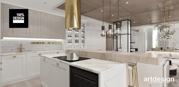 ARTDESIGN architektura wnętrz Kitchen