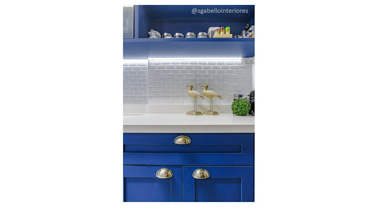 Sgabello Interiores KitchenAccessories & textiles Blue