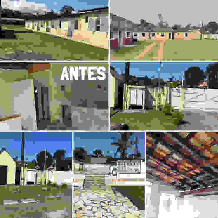 Fotos do espaço ANTES da reforma Lucia Helena Bellini arquitetura e interiores Hotéis tropicais Tijolo Multi colorido
