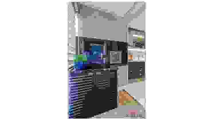 Sgabello Interiores Balconies, verandas & terraces Furniture MDF Blue