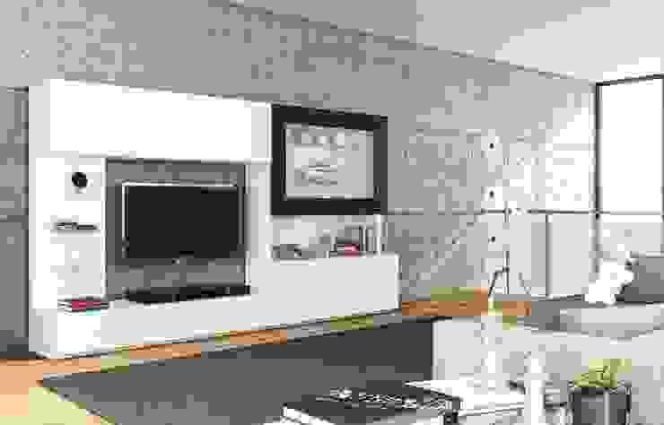 Intense mobiliário e interiores SalasEstanterías