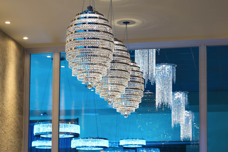 Genesis Spyral - Donuts Club MULTIFORME® lighting Sala da pranzo in stile classico