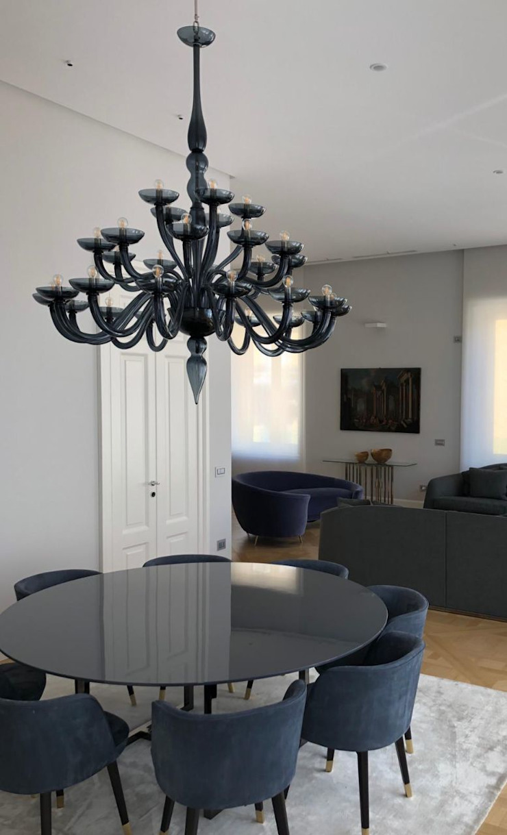 Metropolo MULTIFORME® lighting Sala da pranzo in stile classico