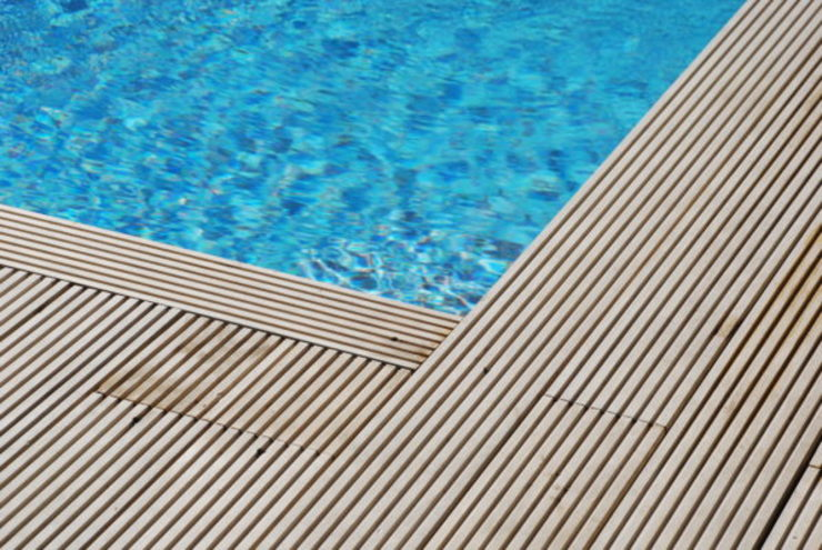 Eden B.V. Modern Terrace Wood Brown